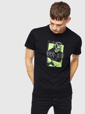 T-DIEGO-J1, Schwarz - T-Shirts