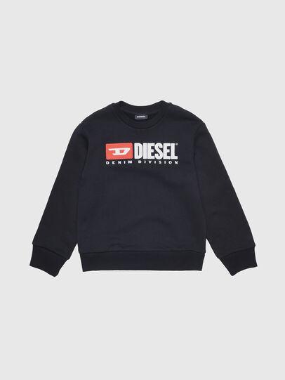 Diesel - SCREWDIVISION OVER, Schwarz - Sweatshirts - Image 1