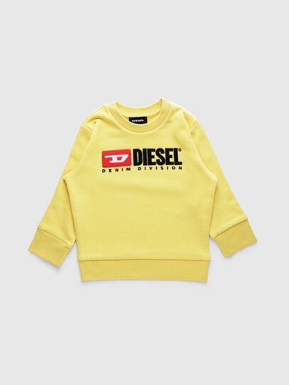 Diesel - SCREWDIVISIONB-R, Gelb - Sweatshirts - Image 1