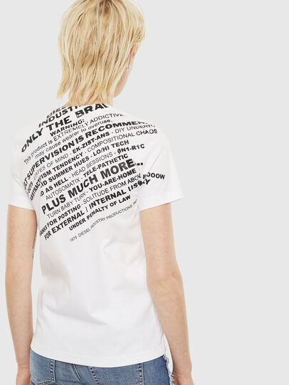 Diesel - T-SILY-S1, Weiß - T-Shirts - Image 2
