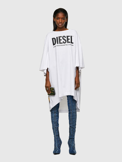 Diesel - D-EXTRA-ECOLOGO, Weiß - Kleider - Image 1