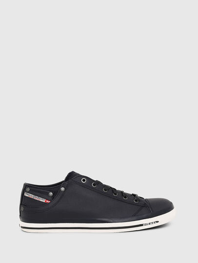 Diesel - EXPOSURE LOW I, Dunkelblau - Sneakers - Image 1
