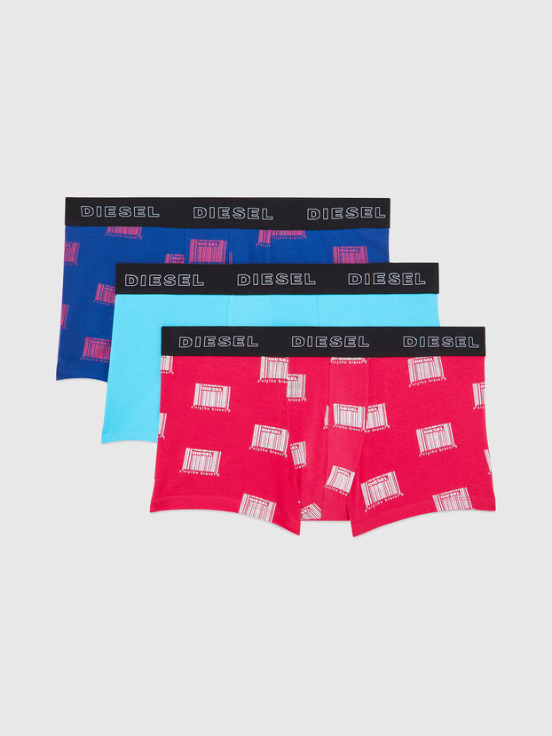 UMBX-DAMIENTHREEPACK, Fuchsie - Boxershorts