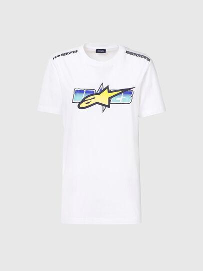 Diesel - ASTARS-T-DIEGOS-B-FL, Weiß - T-Shirts - Image 4