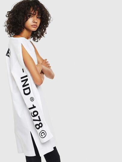 Diesel - T-ROSY, Weiß - T-Shirts - Image 4
