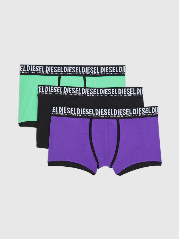UMBX-DAMIENTHREEPACK, Schwarz/Violett - Boxershorts