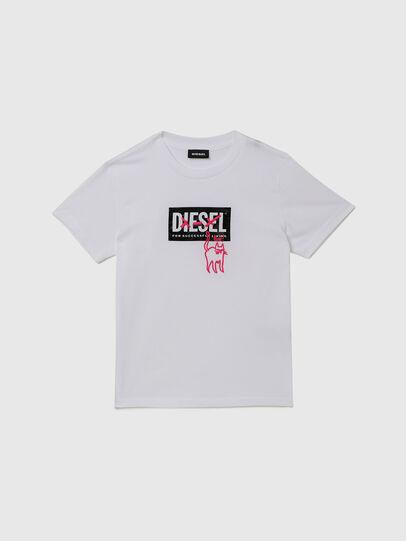 Diesel - TUDARICAT, Weiß - T-Shirts und Tops - Image 1