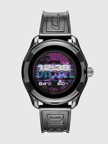 Diesel On Fadelite Smartwatch – Transparentes Schwarz