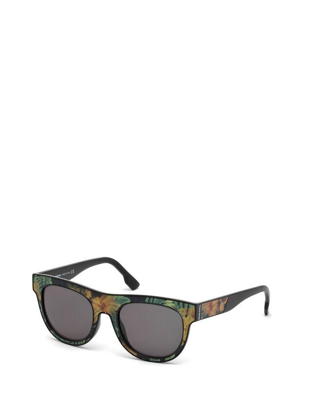 Diesel - DM0160, Schwarz/Orange - Sonnenbrille - Image 4
