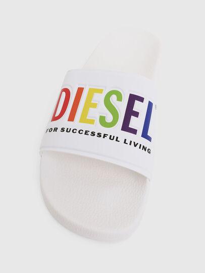Diesel - SA-VALLA, Weiß - Pantoletten - Image 5