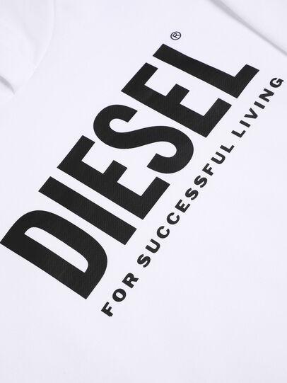 Diesel - SDIVISION-LOGO OVER, Weiß - Sweatshirts - Image 3