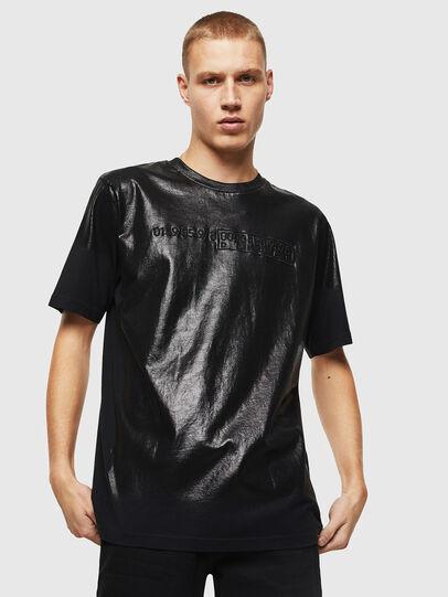 Diesel - T-JUST-J1, Schwarz - T-Shirts - Image 1