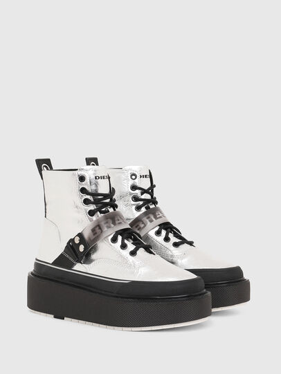 Diesel - H-SCIROCCO STRAP, Silber - Sneakers - Image 2