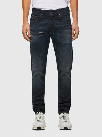 Diesel - D-Strukt JoggJeans® 069QH, Dunkelblau - Jeans - Image 1