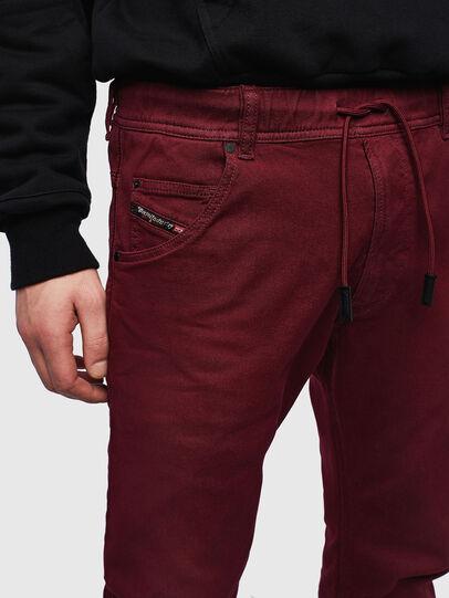 Diesel - Krooley JoggJeans 0670M, Bordeauxrot - Jeans - Image 4