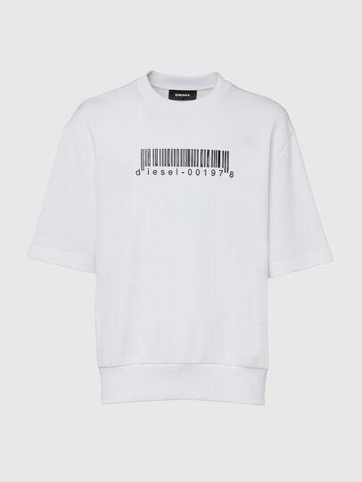 Diesel - S-COOLING-X10, Weiß - Sweatshirts - Image 1