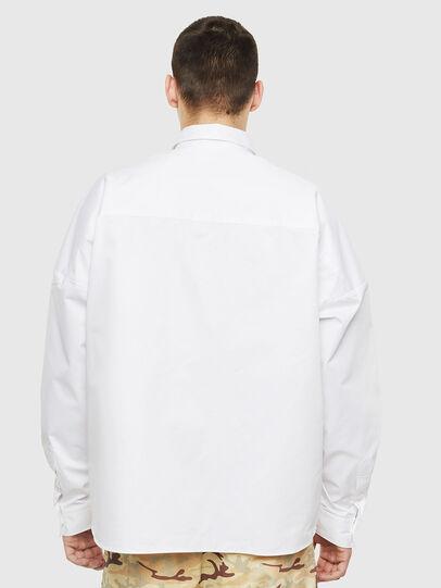 Diesel - S-LOOMY, Weiß - Hemden - Image 2