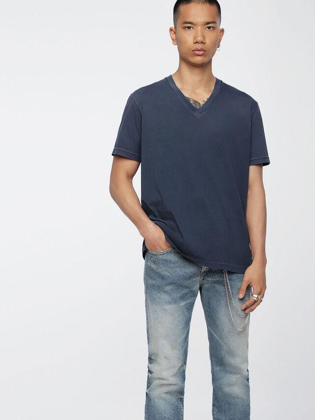 Diesel - T-KEITHS, Blau - T-Shirts - Image 1