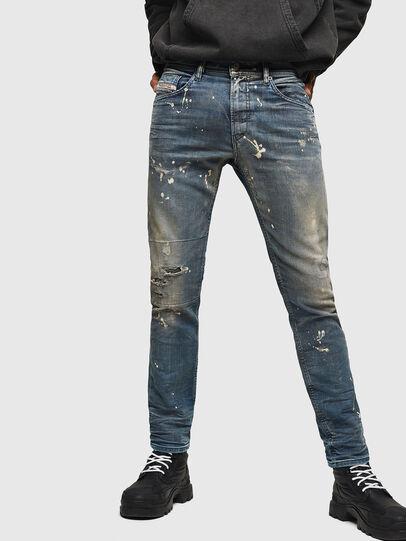 Diesel - Thommer JoggJeans 0870X, Mittelblau - Jeans - Image 1