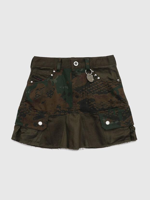 GAMATA, Camouflagegrün - Röcke
