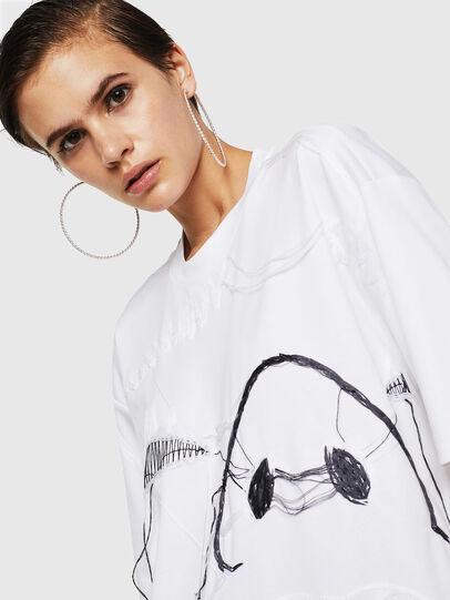 Diesel - TELIX, Weiß - T-Shirts - Image 4