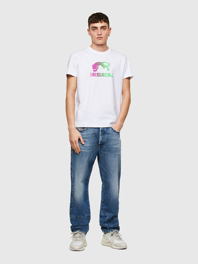 Diesel - T-DIEGOS-E30, Weiß - T-Shirts - Image 4