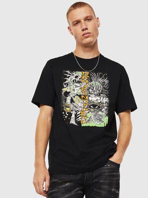 T-JUST-J13, Schwarz - T-Shirts