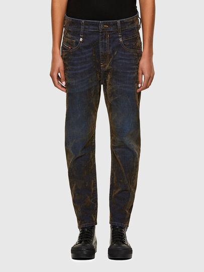 Diesel - Fayza 069RQ, Blau/Gelb - Jeans - Image 1