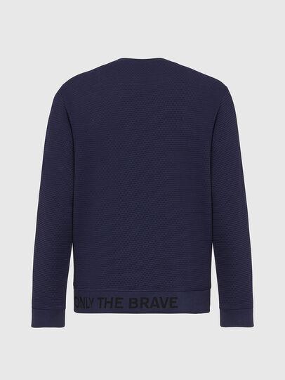 Diesel - S-PEWTER, Blau - Sweatshirts - Image 3
