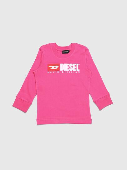 Diesel - TJUSTDIVISIONB ML-R, Rosa - T-Shirts und Tops - Image 1