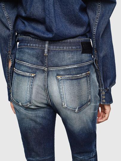 Diesel - Fayza 0092I, Dunkelblau - Jeans - Image 5