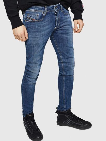 Diesel - Sleenker 069FZ, Mittelblau - Jeans - Image 1