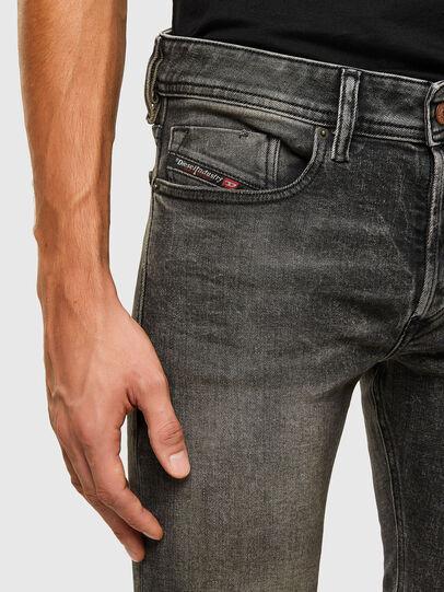 Diesel - Sleenker 009IS, Schwarz/Dunkelgrau - Jeans - Image 3