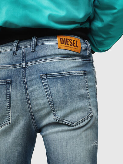 Diesel - D-Vider JoggJeans 069JZ, Hellblau - Jeans - Image 5