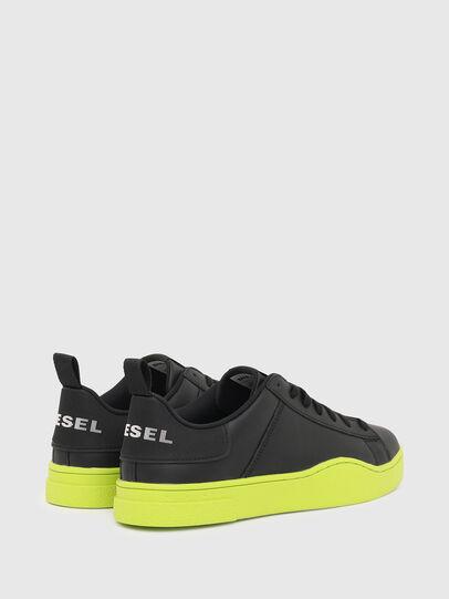 Diesel - S-CLEVER LOW LACE, Schwarz/Gelb - Sneakers - Image 3