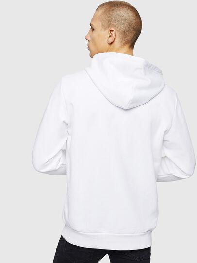 Diesel - S-GIR-HOOD-DIVISION, Weiß - Sweatshirts - Image 2