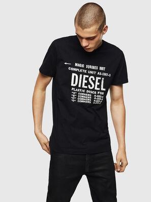 T-DIEGO-B6, Schwarz - T-Shirts