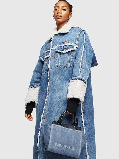 Diesel - BADIA, Jeansblau - Satchel Bags und Handtaschen - Image 7