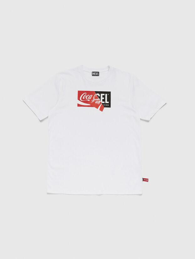CC-T-JUST-COLA, Weiß - T-Shirts