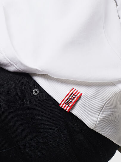 Diesel - LR-S-GIRK-HOOD-VIC, Weiß - Sweatshirts - Image 5