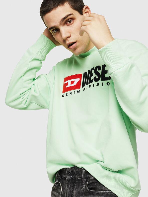 S-CREW-DIVISION, Neongrün - Sweatshirts