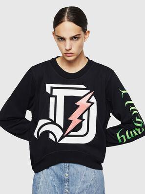 F-LYANYDY-A, Schwarz - Sweatshirts