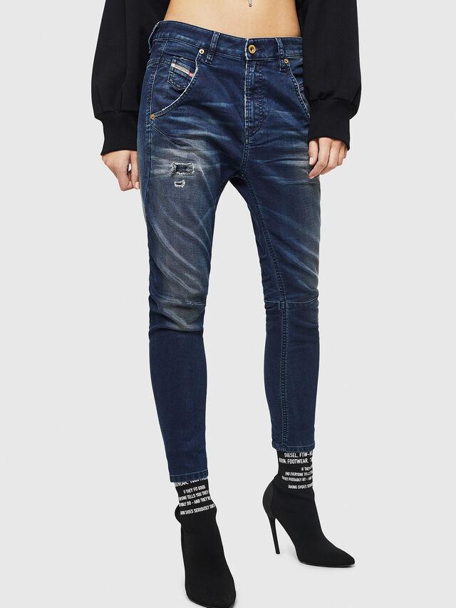 Diesel - Fayza JoggJeans 069GZ, Dunkelblau - Jeans - Image 1
