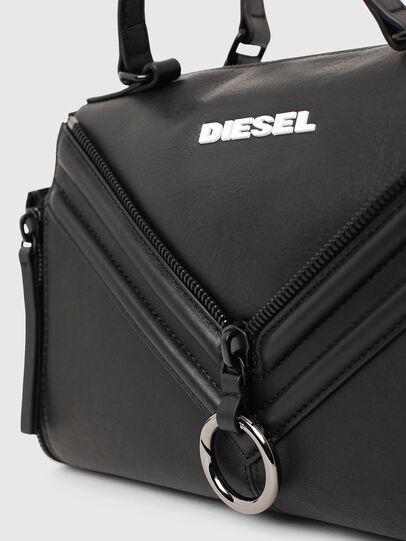 Diesel - LE-ZIPPER SATCHEL, Schwarz - Satchel Bags und Handtaschen - Image 5