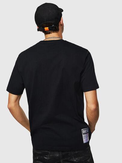 Diesel - T-JUST-B23, Schwarz - T-Shirts - Image 3