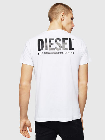 Diesel - LR-T-DIEGO-VIC, Weiß - T-Shirts - Image 2