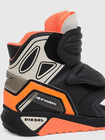 Diesel - ASTARS-SKBOOT, Schwarz/Orange - Sneakers - Image 4