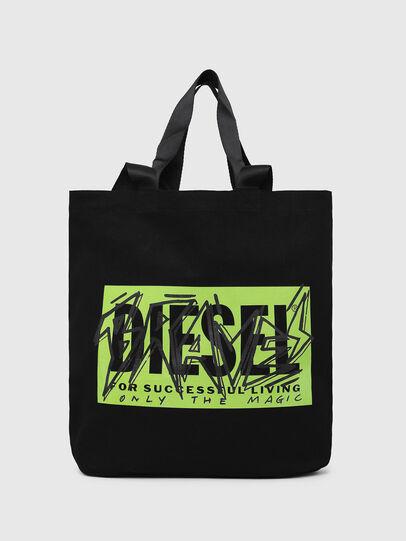 Diesel - LYVENZA, Schwarz/Grün - Shopper und Schultertaschen - Image 1