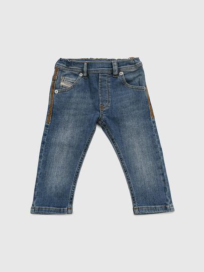 Diesel - KROOLEY-NE-B-N, Mittelblau - Jeans - Image 1