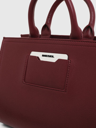 Diesel - PIRITE, Bordeauxrot - Satchel Bags und Handtaschen - Image 7
